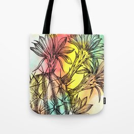 Plant Series: Desert Cactus Tote Bag