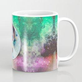 Ying-Yang Galaxy Coffee Mug
