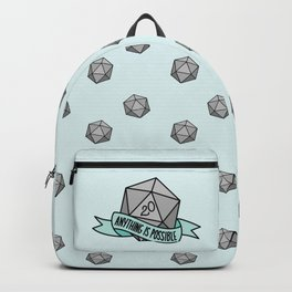 Anything is Possible D20 Backpack