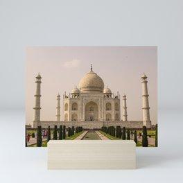 ArtWork Taj Mahal India PhotoArt Mini Art Print