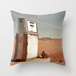 Desert Gas Throw Pillow