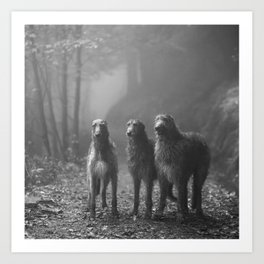 Three Scots Art Print
