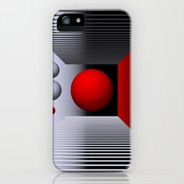 3D-geometry -5- iPhone Case