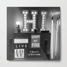 #92Photo #103 #Hi #LightBox #HiLove #HiWeekend be good Metal Print