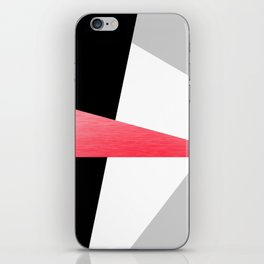 Bold Minimalist Geometric Pattern iPhone Skin