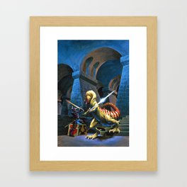 Treasure Maze Framed Art Print