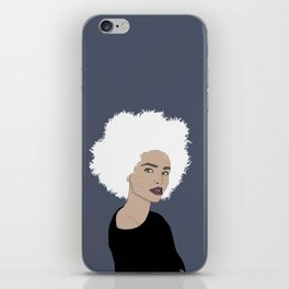 Curly Beauty iPhone Skin