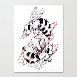 Bee Gem Canvas Print