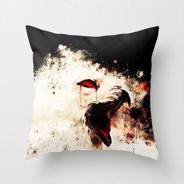 snow owl wsstd Throw Pillow