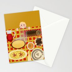 Screw Santa, there's food on the table! Stationery Cards