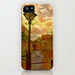 Old fort in the city of Kaliningrad iPhone Case