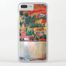 Highland escape Clear iPhone Case