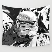 trooper Wall Tapestries featuring Super Trooper by SpirΤο