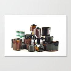 analog photography Canvas Print