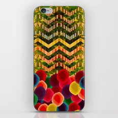 Chevron And Dots iPhone Skin