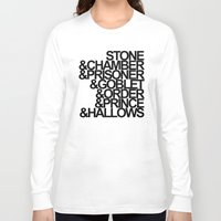 harry potter Long Sleeve T-shirts featuring Harry Potter Ampersand by alison