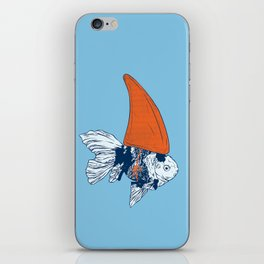 Big fish in a small pond iPhone Skin