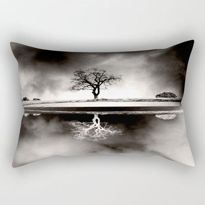 SOLITARY REFLECTION Rectangular Pillow