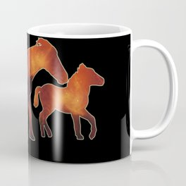 Cosmic Ponies - Mother and Foal Coffee Mug
