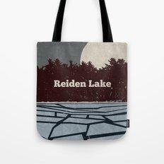 Reiden Lake (Fringe) Tote Bag