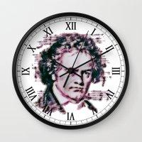 beethoven Wall Clocks featuring Beethoven by Zandonai