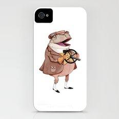 Mr. Toad iPhone (4, 4s) Slim Case