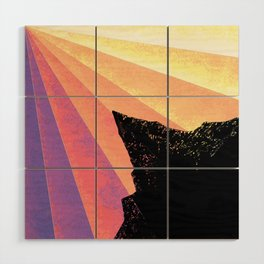 Ray of Sun Wood Wall Art