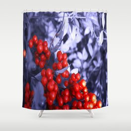 Crispy Berriez Shower Curtain