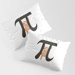 Sloth Funny Math Pun Pi Day Gift Math Science Lover Pi day Pillow Sham