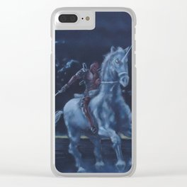 Dead Rider Clear iPhone Case