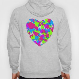 Lucky Hand Colorful Playing Card Suits Hoody