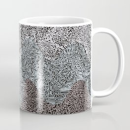 Under the Influence (Marimekko Curves) Hi Contrast Coffee Mug