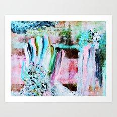 Finger Paint 3 Art Print