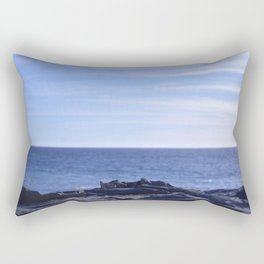 sea rocks. Rectangular Pillow