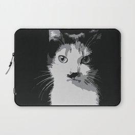 A Feline Mastermind Laptop Sleeve