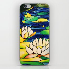 River of Lotus Blossoms iPhone Skin