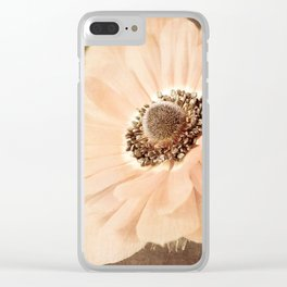 Just Peachy Clear iPhone Case