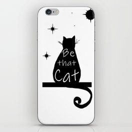 Be that cat iPhone Skin