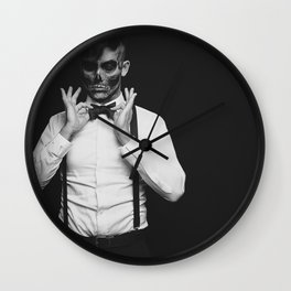 Monsieur Monstre Wall Clock