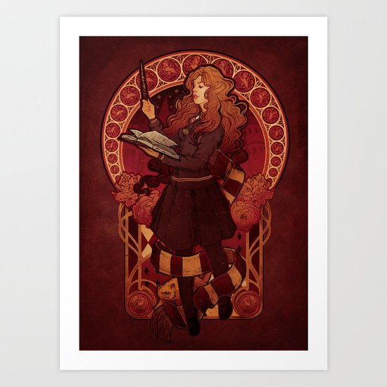The Brightest Witch of Her Age Art Print