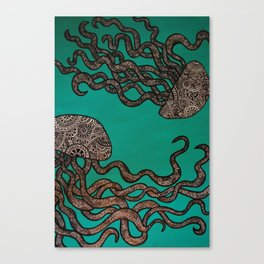 Giant Jellies Canvas Print