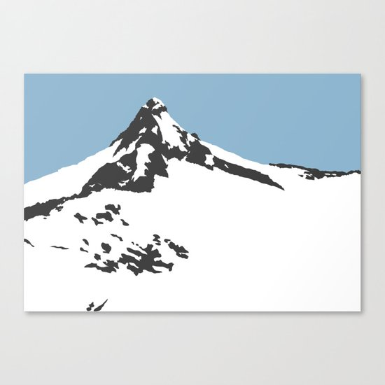 Mount Aspiring Canvas Print