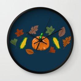 Fall #5 Wall Clock