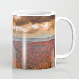 Coopers Rock State Park West Virginia Fall Landscape Coffee Mug