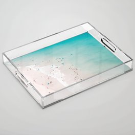 beach - summer love II Acrylic Tray