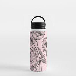 Palid Flowers  Water Bottle