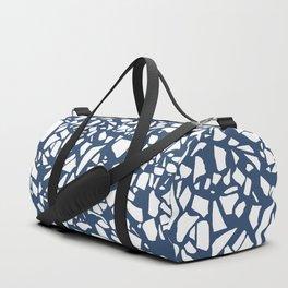 Terrazzo Navy Duffle Bag