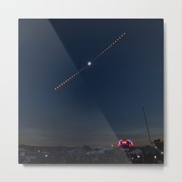 2017 Total Solar Eclipse 2 Metal Print