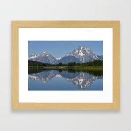 The Tetons Framed Art Print