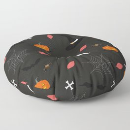 Halloween Pattern Floor Pillow